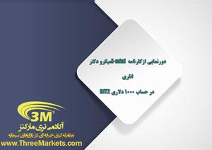 دورنمایی از کارنامه E-mini میکرو دکتر اناری در حساب ۱۰۰۰ دلاری BIT2