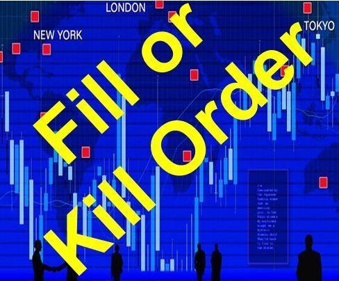 Fill or Kill سفارش انجام یا حذف